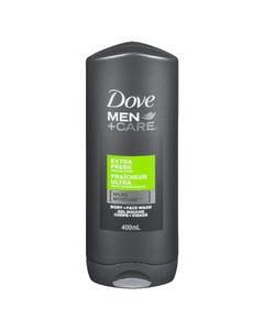Dove Men+Care Extra Fresh Body + Face Wash 400ML