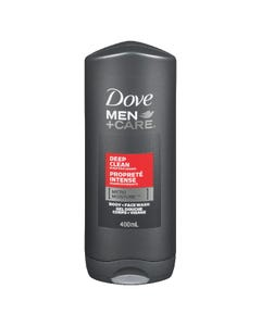 Dove Men+Care Deep Clean Body & Face Wash 400ML