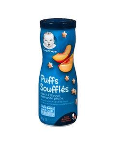 Gerber Puffs Peach Flavour 42G