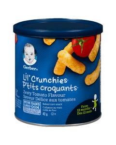 Gerber Graduates Lil' Crunchies Zesty Tomato 42G