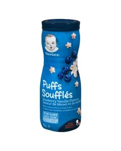 Gerber Puffs Blueberry Vanilla 42g