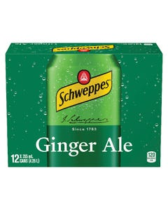Schweppes Ginger Ale 12X355ML