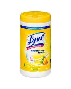Lysol Citrus Disinfecting Wipes 80CT