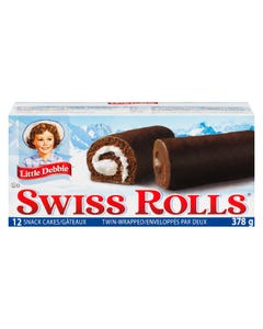 Little Debbie Swiss Rolls 340G