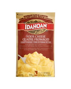 Idahoan Mashed Potatoes Four Cheese 113g