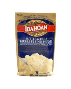 Idahoan Mashed Potatoes Butter & Herb 113g