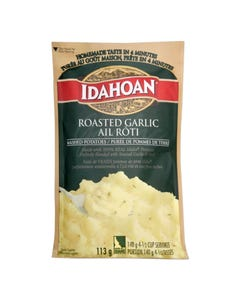 Idahoan Mashed Potatoes Roasted Garlic 113g