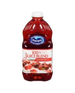 Ocean Spray 100% Juice Blend Cranberry 1.77L