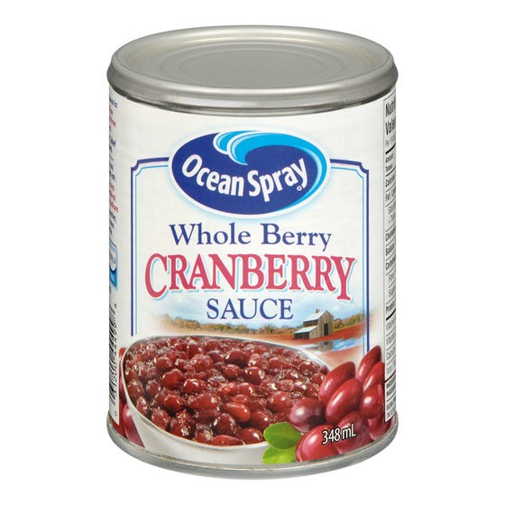 Ocean Spray Sauce aux Canneberges Fruits Entiers 348ML
