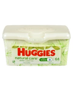 Huggies Lingettes Natural Care 64'S