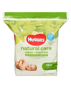 Huggies Wipes Natural Care Refill 184ct