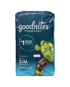 Goodnites Boys S/M 14CT