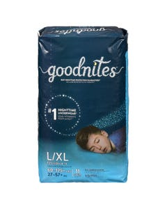 Goodnites Boys L/XL 11CT