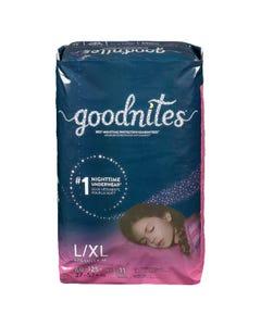 Goodnites Underwear L/XL Girl 11CT