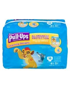 Huggies Pull-Ups Learning Designs Garçons 4T 5T 18'S