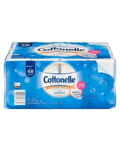 Cottonelle CleanCare Bath Tissue 24 Double Rolls