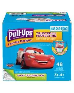 Huggies Pull-Ups Learning Designs Garçons 3T 4T 48'S
