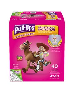 Huggies Pull-Ups Learning Designs Filles 4T 5T 40'S