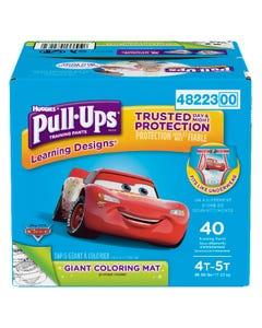 Huggies Pull-Ups Learning Designs Garçons 4T 5T 40'S