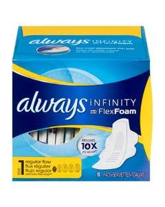 Always Infinity Avec Flexfoam Flux Régulier Taille 1 18'S