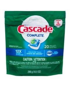 Cascade Complete Fresh Scent 20 pacs