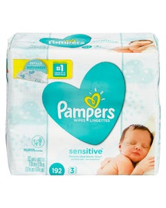 Pampers Wipes Sensitive 192CT