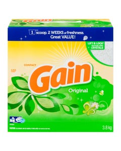 Gain Powder Detergent Orginal 120 loads 3.8kg