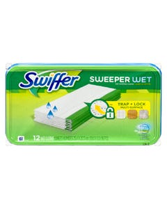 Swiffer Sweeper Wet Cloths 12CT