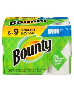Bounty Paper Towels 6 Giant Rolls
