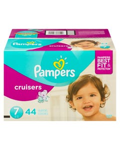 Pampers Diapers Size 7 Box 44 count
