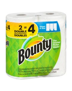 Bounty Select-A-Size 2 Double Rolls
