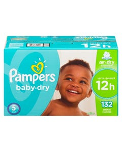 Pampers Baby-Dry Diapers Size 5 132CT