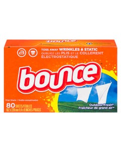 Bounce Dryer Sheets Outdoor Fresh 80ct
