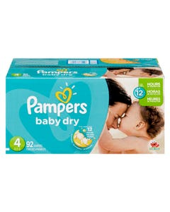 Pampers Diapers Box Size 4 92ct