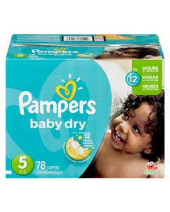 Pampers Diapers Box Size 5 78ct