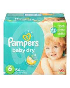 Pampers Diapers Box Size 6 64ct
