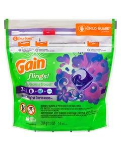 Gain Flings Moonlight Breeze Detergent 14 Pacs