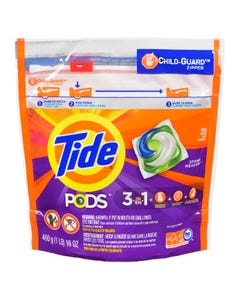 Tide Pods Spring Meadow Detergent 20 Pacs