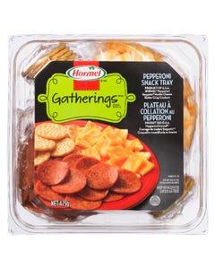Hormel Gatherings Pepperoni Snack Tray 425G