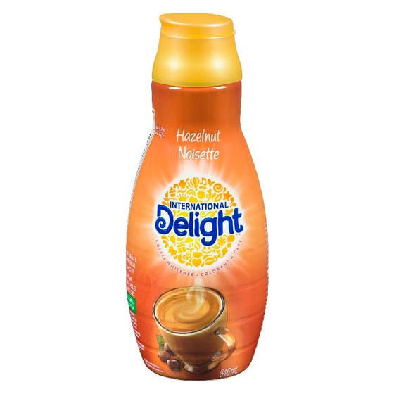International Delight Creamer Hazelnut 946ML