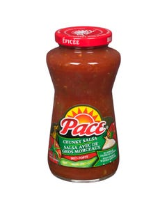 Pace Chunky Salsa Hot 428ml