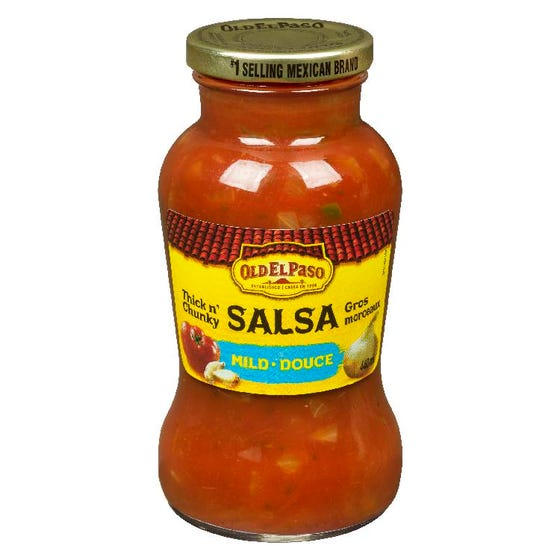Old El Paso Thick n' Chunky Salsa Mild 440ML