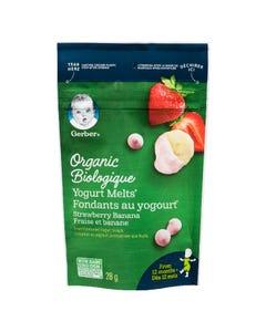 Gerber Organic Yogurt Melts Strawberry Banana 28G