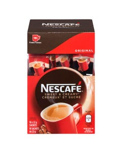 Nescafe Sweet & Creamy Instant Coffee Original 18x22g