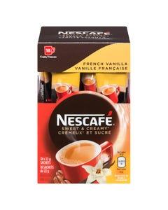 Nescafe Sweet & Creamy French Vanilla 18X22G