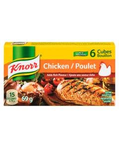 Knorr Chicken Cubes 6CT 69G