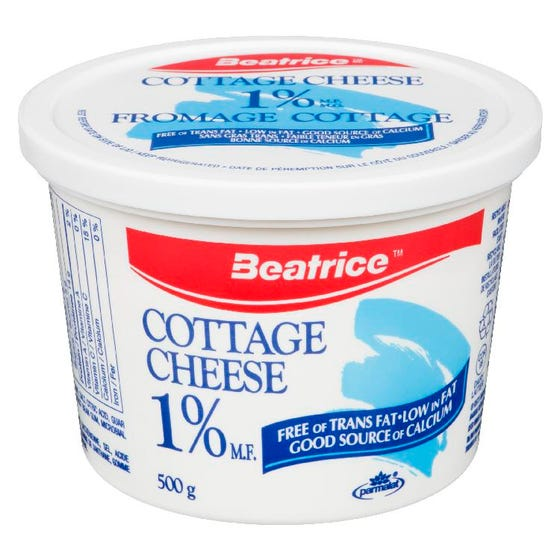 Beatrice Fromage Cottage 1% 500G