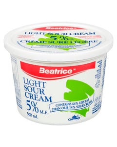 Beatrice Sour Cream Light 5% 500ml