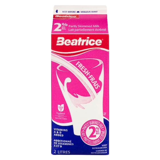 Beatrice Lait 2PC 2L