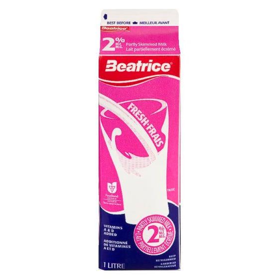 Beatrice Milk 2% 1L